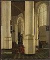 Interieur van de Oude Kerk te Delft met de graftombe van Pieter Pietersz Heijn, luitenant-admiraal van Holland Rijksmuseum SK-A-1971.jpeg