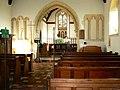 Interior, St Mary Magdalene church, Winterbourne Monkton - geograph.org.uk - 1056604.jpg
