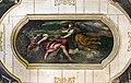 Interior of Chiesa dei Gesuiti (Venice) - sacristy - Ceiling - Elia nutrito dall'angelo by Palma il Giovane.jpg