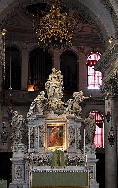 File:Interior of Santa Maria della Salute, Venice 003.jpg