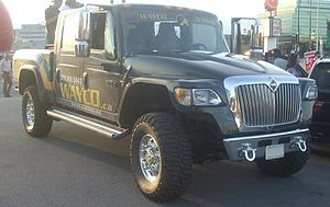 Navistar International - International MXT, the smallest of the XT pickup trucks