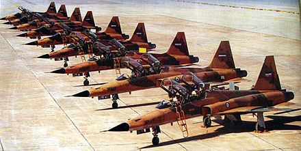Iranian Northrop F-5 during Iran-Iraq war Iranian Northrop F-5 during Iran-Iraq war.jpg