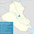 Iraqi parliamentary election, 2010 result-Baghdad.jpg