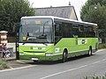 Irisbus Crossway n°203 (vue avant) - Touraine Fil Vert (Hôpital, Amboise * été 2018).jpg