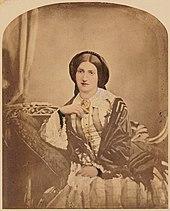 Si Isabella Beeton, née Mayson na nakuahan nin ladawan mga taon 1854