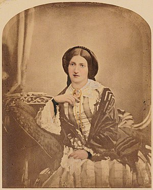 Isabella Beeton - Isabella Beeton, née Mayson, photographed in about 1854