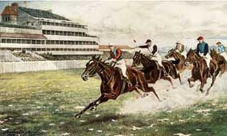 Epsom Derby - Isinglass wins the Derby (1893)
