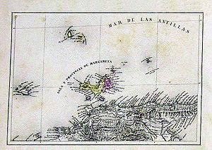 Isla-de-Margarita-map-1840-Codazzi