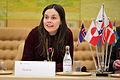 Islands samarbetsminister och forsknings- och hogskoleminister Katrin Jakobsdottir vid Nordiska Radets session i Stockholm.jpg