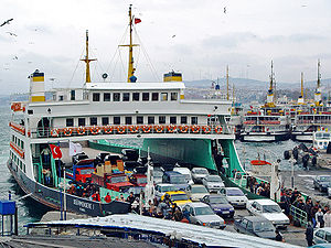 Ferries passenger car ferry that can carry 600 cars on the Dover-Calais