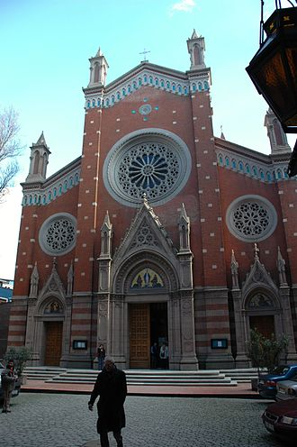 Minorities in Turkey - Church of St. Anthony of Padua in Istanbul.