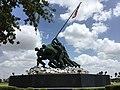 Iwo Jima Monument Mold in Harlingen, TX.jpg