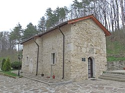 Izvor Monastery - church outside.jpg