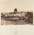 Jérusalem. Mosquée d'Omar, construite sur l'emplacement su Temple de Salomon MET DP345504.jpg