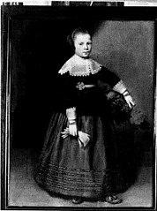 Portret van een meisje, mogelijk uit de familie Beaumont