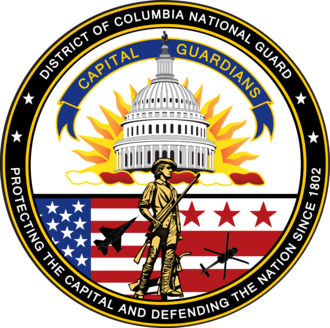 District of Columbia National Guard - The Seal of District of Columbia National Guard