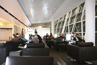 Swiss International Air Lines - Swiss lounge at John F. Kennedy International Airport