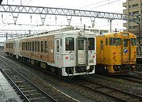 JR Kyushu Kiha 125 Umisachi Yamasachi-Kiha 40 nichinan.jpg
