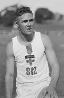 Jack Metcalfe Australian athlete