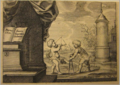 Jacob Neefs, Philip Fruytiers - Two putti measuring distances with a compass and a quadrant.tiff