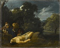 Jacob Pynas (attr.) - The good Samaritan (Louvre).jpg