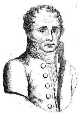 Jacques-Joseph Corbière - Portrait from Biographie pittoresque des députés, 1820