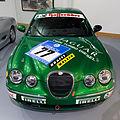 Jaguar S-Type Diesel race car front Heritage Motor Centre, Gaydon.jpg