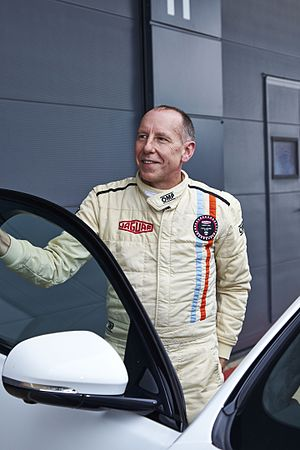 Andy Wallace (racing driver) - Image: Jaguar XJ Night and Day with Andy Wallace (23119134049)
