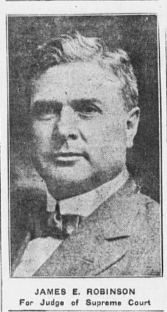 James E. Robinson - circa 1918