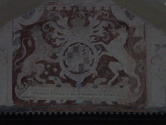 West Bergholt - James I's Coat of Arms in Old St Mary's Church
