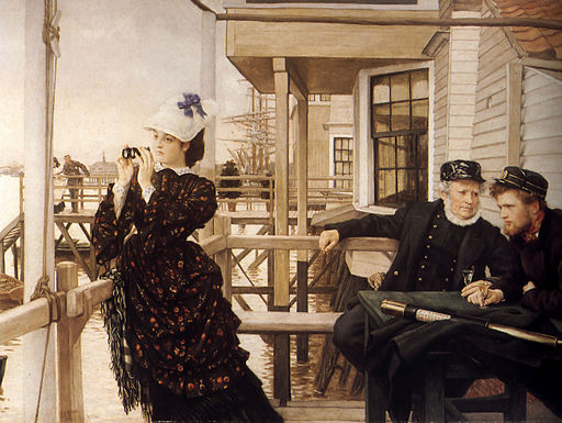 James Tissot - The Captain's Daughter