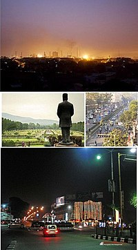 Photo: Collection of images of the city jamshedpur tata steel,jubilee park,City area.
