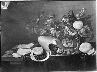 Still Life with Nautilus Shell