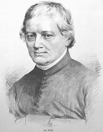 Jan Holly (portrait from 1885) Jan Holly Vilimek.jpg