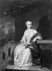 Portrait de Agatha Heronima Nobel (1728-1822)