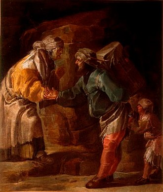 Jan van de Venne - The fortune teller