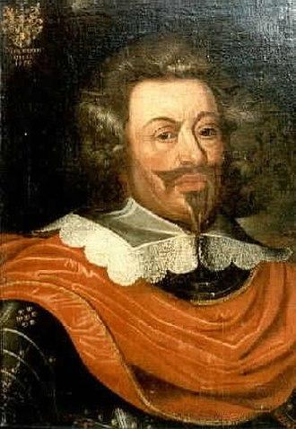 Johann von Werth - Johann von Werth as burgrave (governor) of Odenkirchen, oil on canvas
