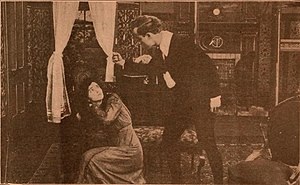 Jane Eyre (1910 film) - A film still from the lost work