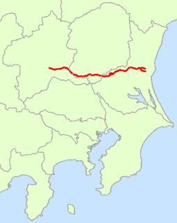 Japan National Route 50 road in Japan