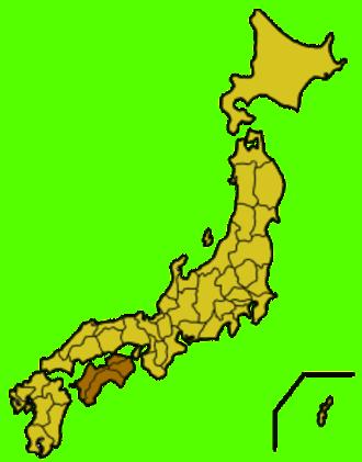 Shikoku - Image: Japan shikoku map small