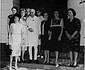 Jawaharlal Nehru with Jewish women at Teen Murti House.jpg