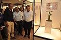 Jayanta Sengupta Visits With Shrikant Pathak And Nataraj Dasgupta - Objects In CRTL Archive Exhibition - NCSM - Kolkata 2018-05-18 0653.JPG
