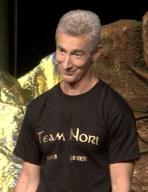 Jed Brophy - Brophy on April 5, 2015, at the Hobbitcon III convention in Bonn, Germany