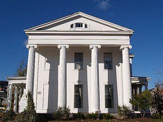 Highlands Historic District (Fall River, Massachusetts) - Jefferson Borden House (c.1840)