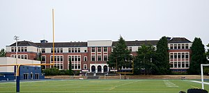 Jefferson High School (Portland, Oregon) - Viewed from the north in 2017