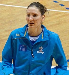 Jelena Lavko Serbian handball player