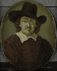 Portrait of Jeremias de Decker, Poet in Amsterdam