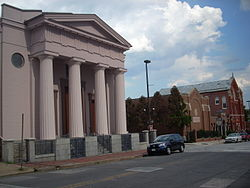 Jewish Museum of Maryland, Lloyd St., Baltimore City, Maryland.JPG