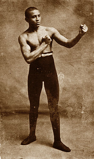 1902 in sports - World lightweight boxing champion Joe Gans