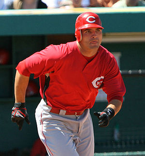 Joey Votto - Votto in Spring training, 2008